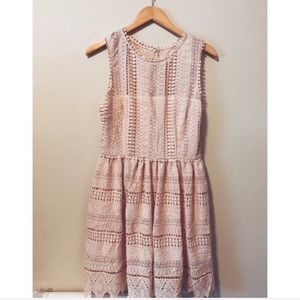 Bb Dakota // Lace Midi Dress